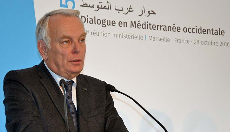 Jean-Marc Ayrault demande aux Libyens de respecter l'accord international (photo F.Dubessy)
