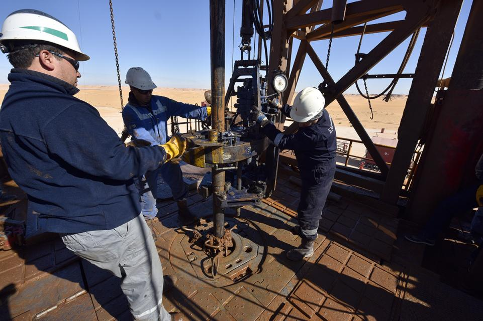 L'accord va prolonger le forage du champ TFT (photo : Sonatrach)