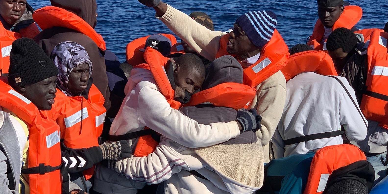 Le Sea Watch 3 vient de récupérer 47 migrants à son bord et se dirige vers la Sicile (photo : Sea Watch)