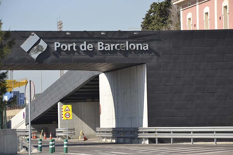 Le port de Barcelone enregistre des trafics records en 2018 (photo : F.Dubessy)