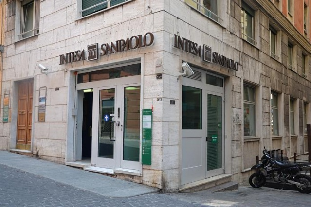 Intesa Sanpaolo a ménagé son effet de surprise. Photo DD
