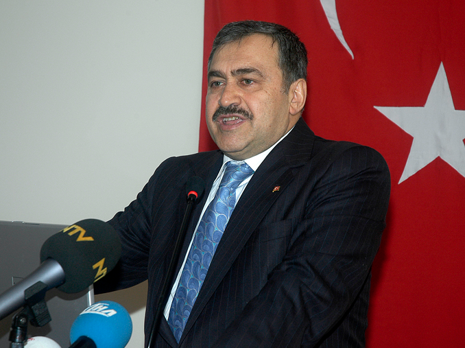 Veysel Eroğlu, le ministre turc en charge de l'eau et des forêts (photo Ministery of Forestry and Water of Turkey)