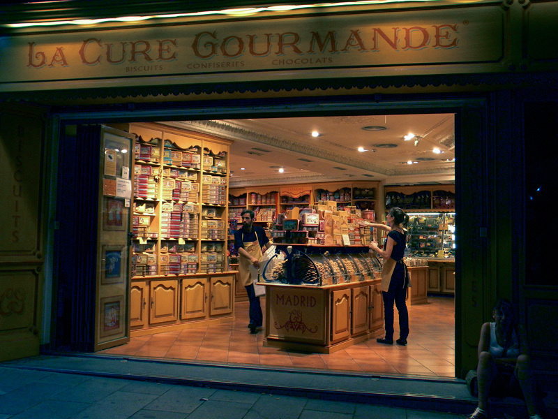 Boutique de Madrid (photo BL)