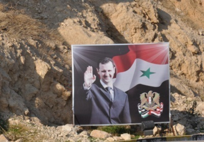 Bachar al-Assad remporte sans surprise l'élection présidentielle (photo C.Garcia)