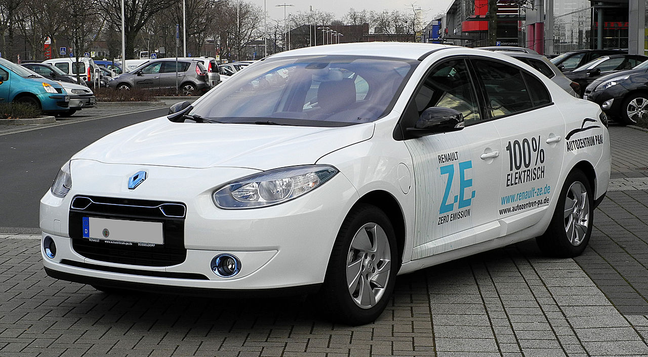 La Renault Fluence ZE. Photo (DR)