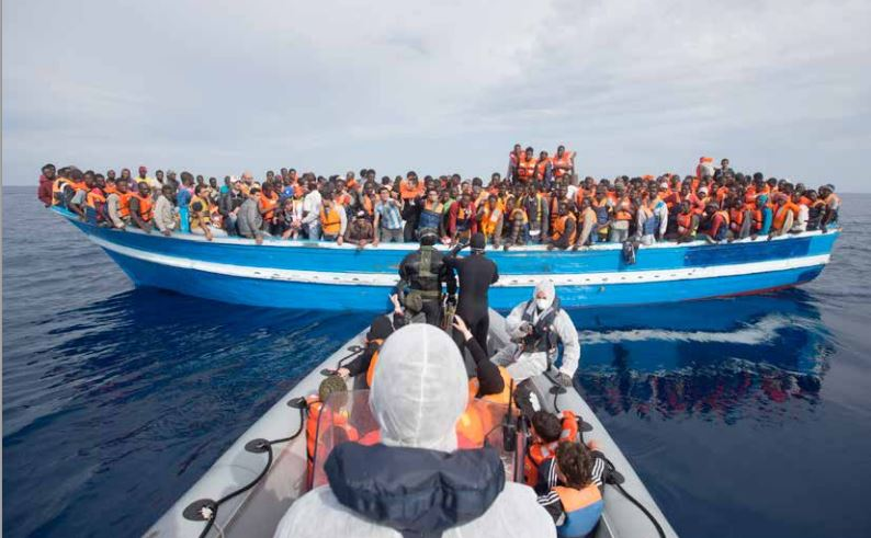 La Méditerranée face au drame des réfugiés (photo Amnesty International)