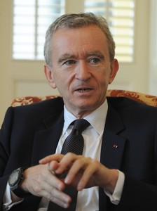 Bernard Arnault, l'homme le plus riche de France (photo DR)