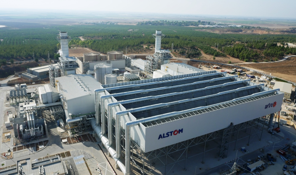 La centrale d'Haruvit devient la plus performante d'Israël (photo Alstom)