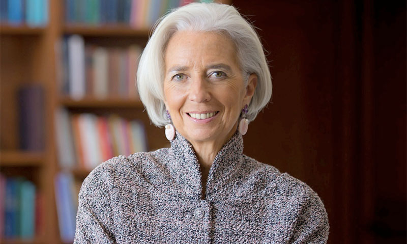 Christine Lagarde réaffirme son soutien à la Tunisie (photo FMI)