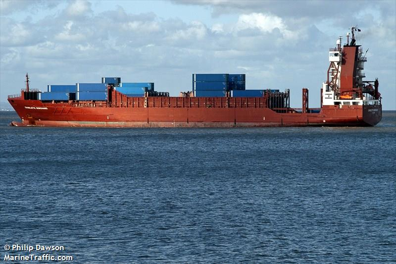 L'Allegro reliera chaque semaine Fos-Valence-Ghazouet. (Photo marine traffic)