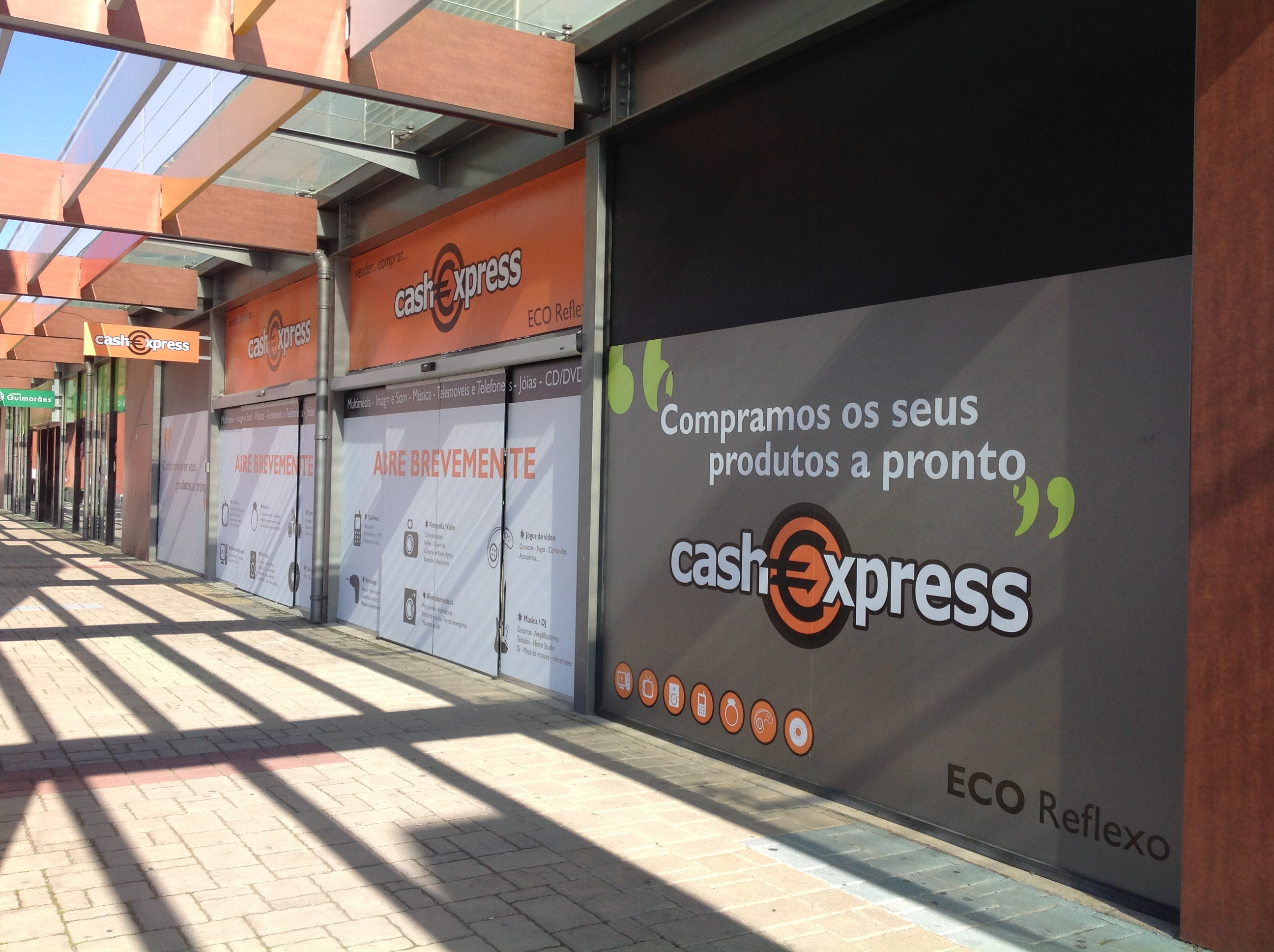 Le magasin Cash Express de Portimao, situé à 3/4 d'heure de Faro (photo : Cash Express)