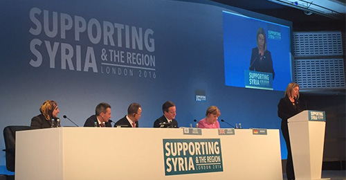70 pays participent à la conférence des donateurs de Londres. (photo : supporting syria)