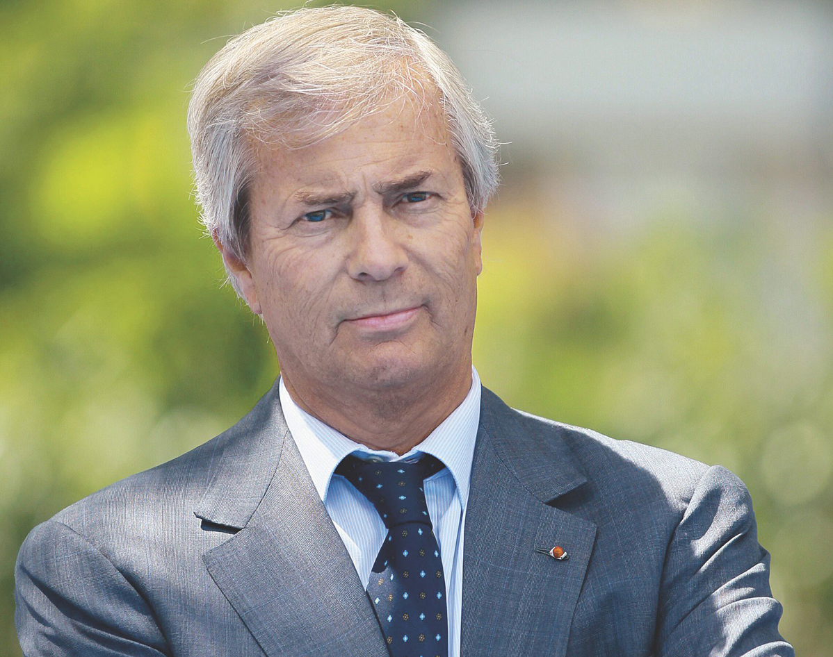 "Vincent Bolloré construit un groupe ""latin"". Photo Vivendi."