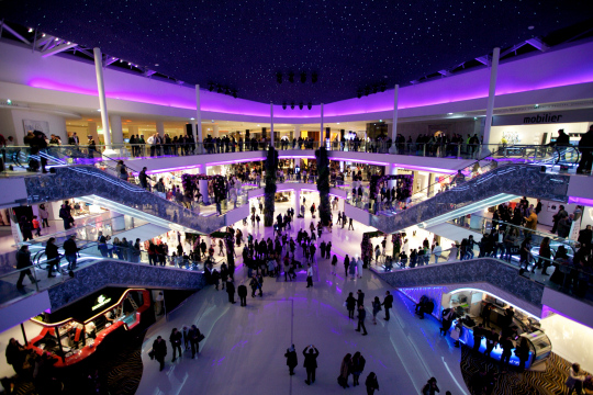 Le magasin Galeries Lafayette quitte le Morocco Mall de Casablanca. Photo DR