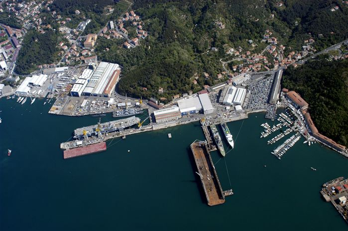 Le chantier naval de Muggiono accueillera une partie de la fabrication (photo Fincantieri)