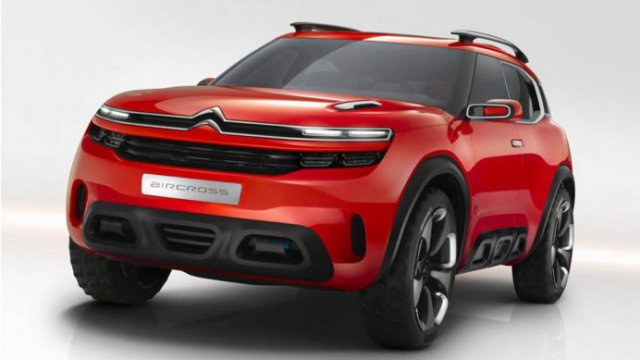 Le nouveau SUV de Citroën sera construit en France (photo PSA)