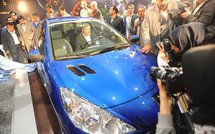 Une Peugeot 207i made in Iran le 21 mars 2010