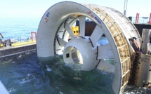 OpenHydro turbine en France et à l'international
