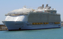 L'Harmony of the Seas fuit le port de Marseille